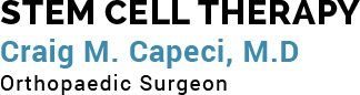 Stem Cell Therapy Craig M Capeci MD